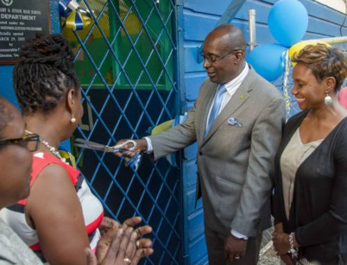 Infant Department Opens at Allman Hill Primary and Junior High